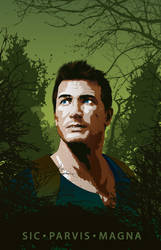 Nathan Drake | Vector tribute by Psycool