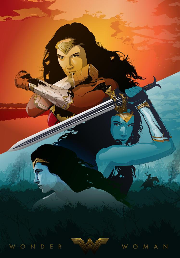 Wonder Woman   Alternative Poster by Psycool