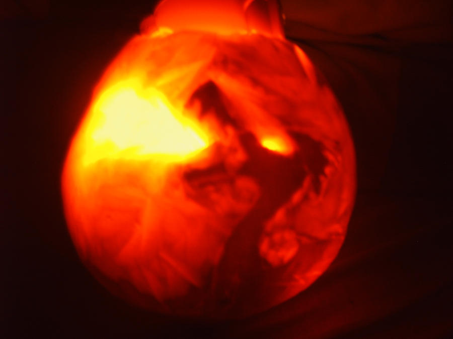 Inferno Dragon Pumpkin by FroslassManiac