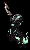 Hecarim Pixel Art by FroslassManiac