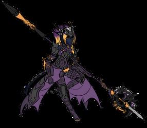 Au'Ra dragoon