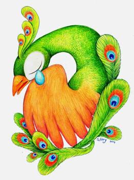 The Broken-hearted Peacock