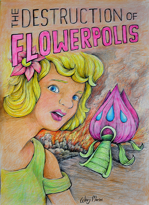 Flowerpolis by winrymarini