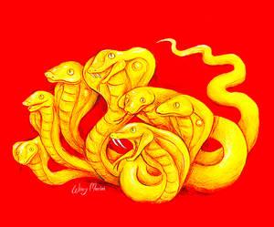 Seven-Headed Snake