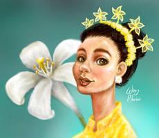 The Legend of Kemuning Flower
