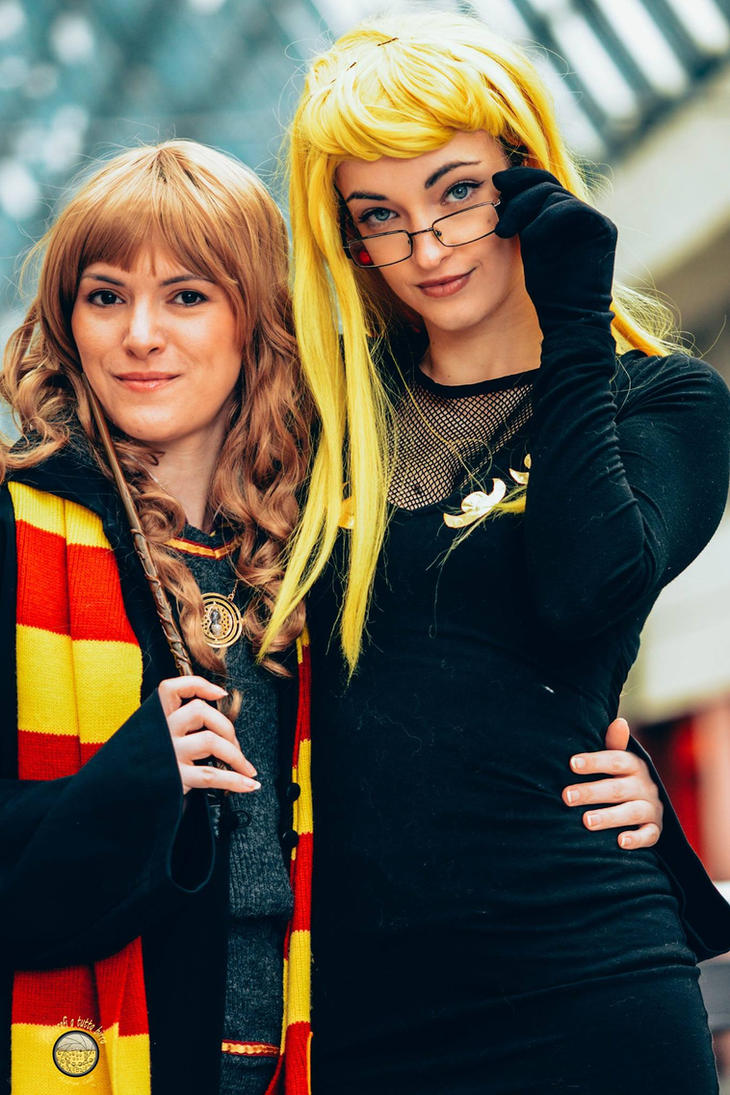 Hermione and Kalifa by Menestrella