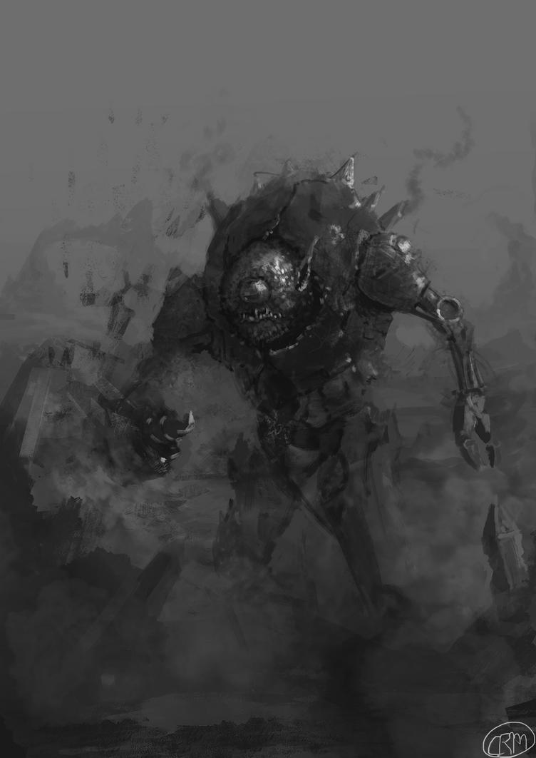 Goblin Miner by Gaidenlight
