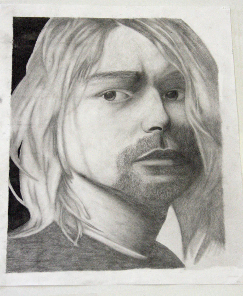 Kurt Cobain. by lustdrunk