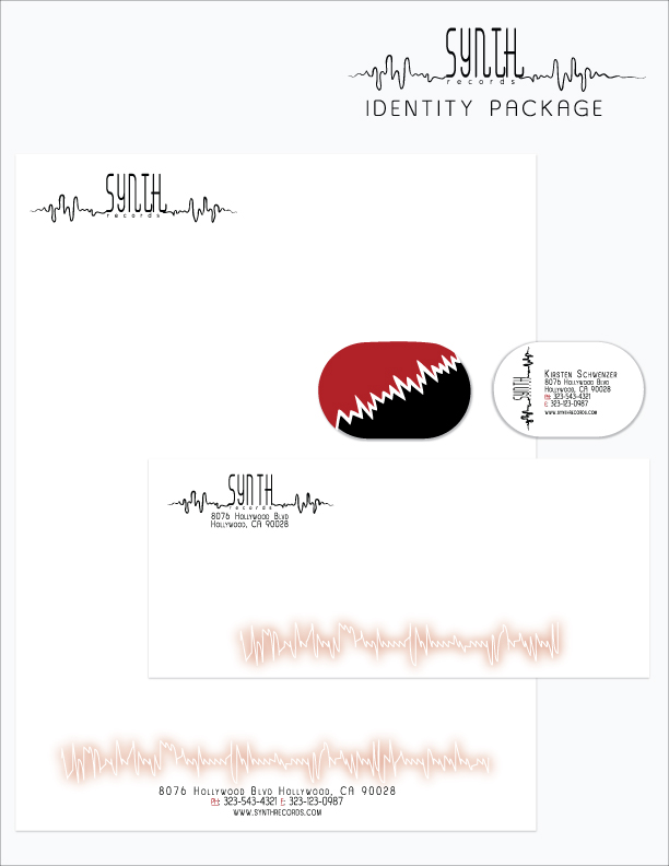 synth records identity package by lustdrunk