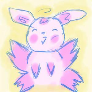 Fat Halo Bunny
