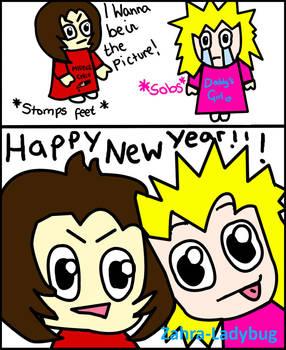 Happy New Year -Frankie + Lily