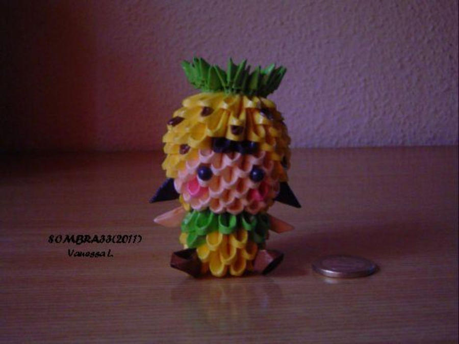 Pineapple Girl By Sombra33