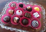 Chocolates without calories ( paper chocolates)