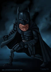 BATMAN CARICATURE (The dark Knight Rises)
