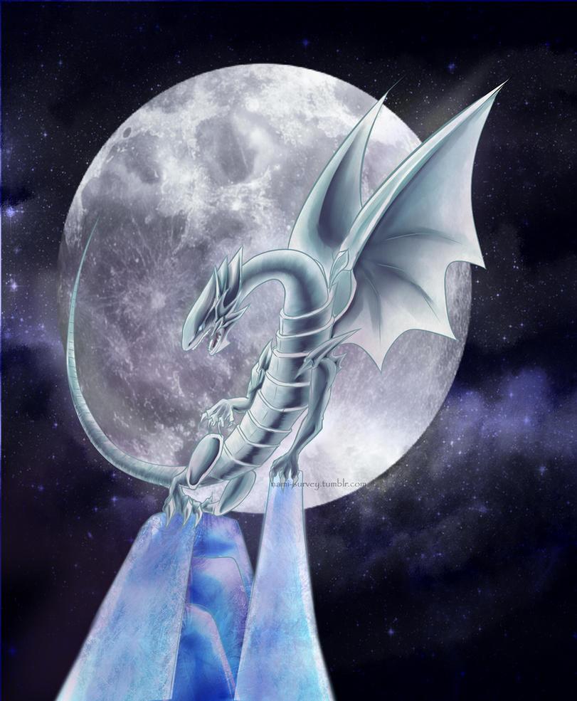 Blue-eyes_white dragon by Nami-v