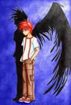 Daisuke's shadow
