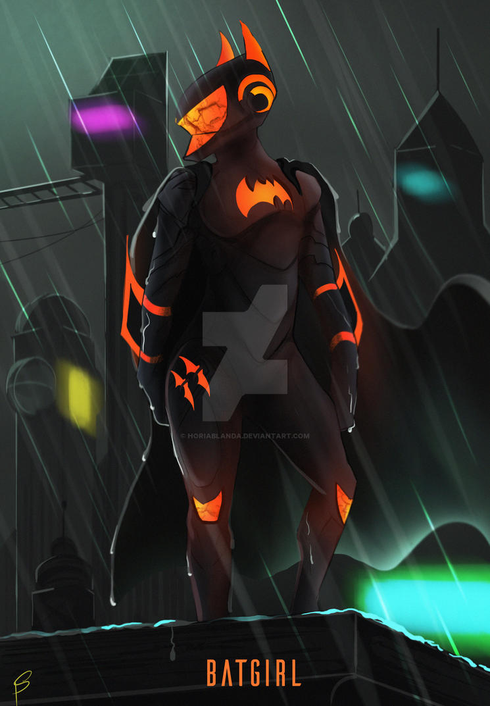 Batgirl of the future by HoriaBlanda