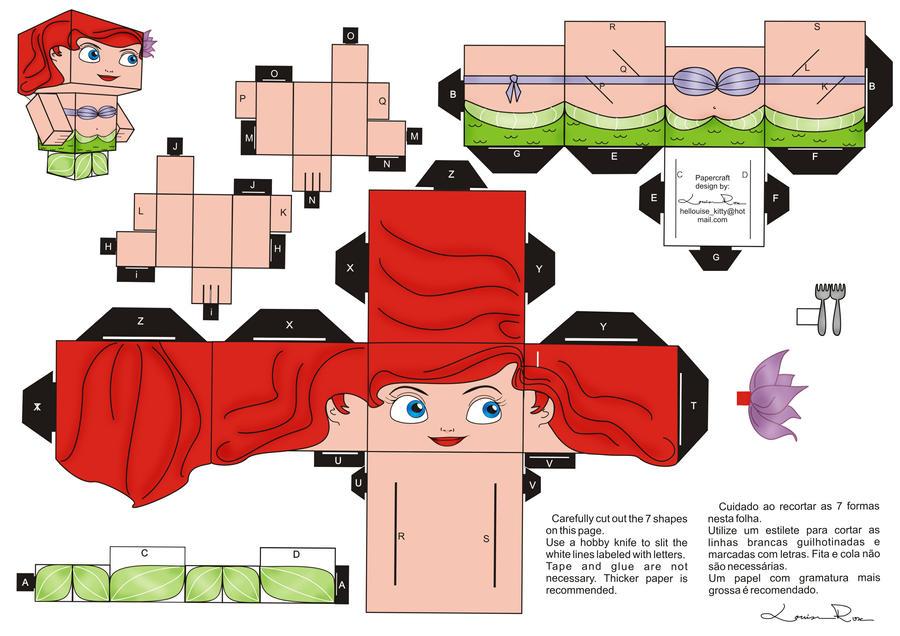 Origami Girl Accessories