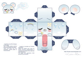 Papercraft Sweet Dreams by Louise-Rosa