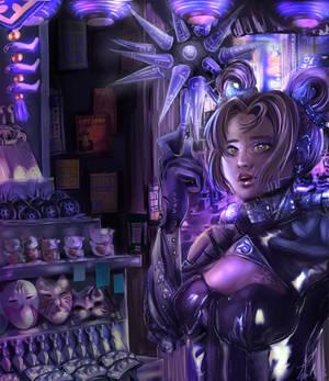 Cyberpunk meets Japan 2050
