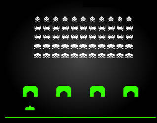 Space Invaders by Kevin-teh-Pwner