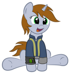Littlepip being adorable
