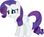 Rarity Full Body Vector