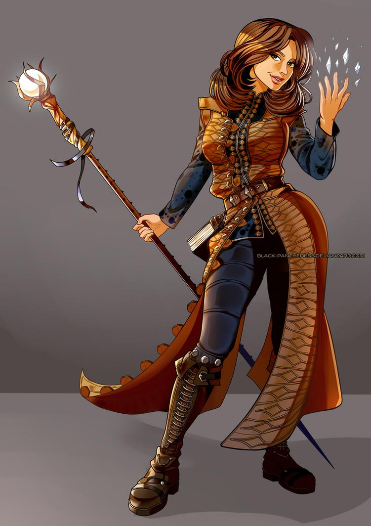 Dragon Age OC : Melinoe by Black-pantheress
