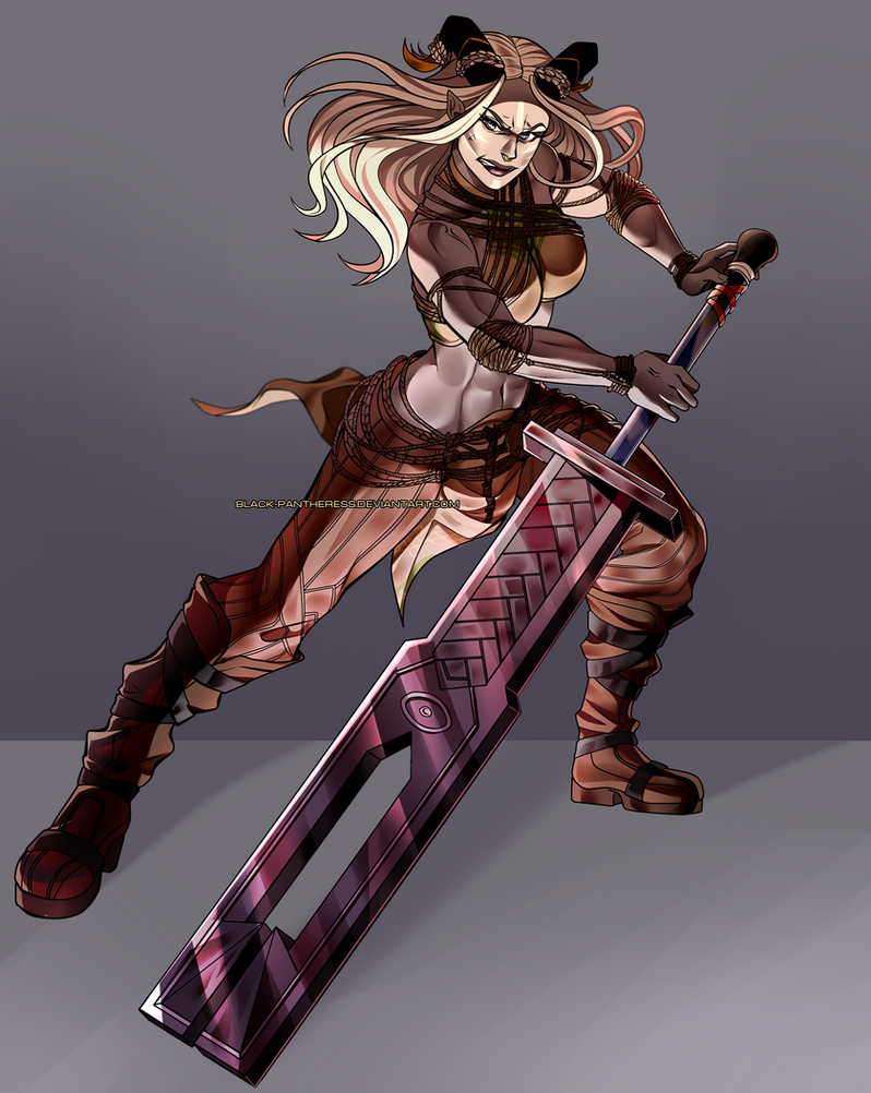 Dragon Age OC : Issala by Black-pantheress