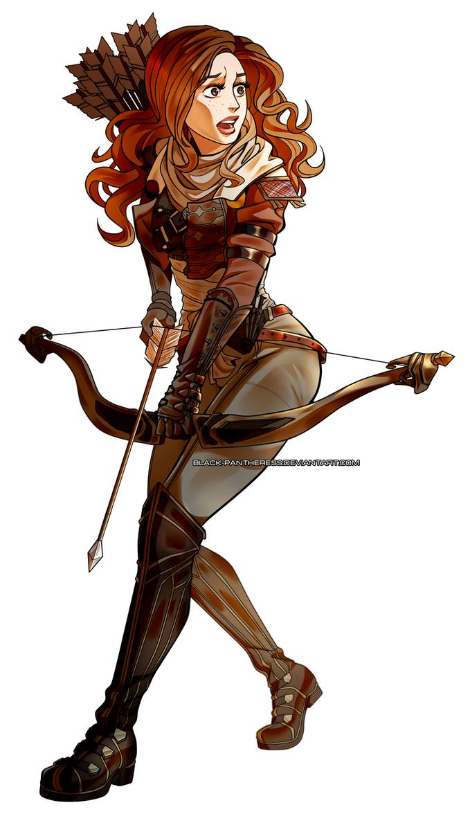 Dragon Age OC : Odette by Black-pantheress