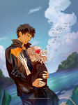 PP Commission : Kyomi and Sousuke by Heisedebao