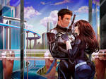 PP Commission: Henry and Jessica by Heisedebao