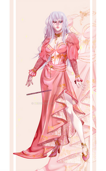 [CLOSED OUTFIT AUCTION] : Tender pink dress