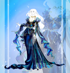 [CLOSED OUTFIT AUCTION] : Magical sky dress by Heisedebao