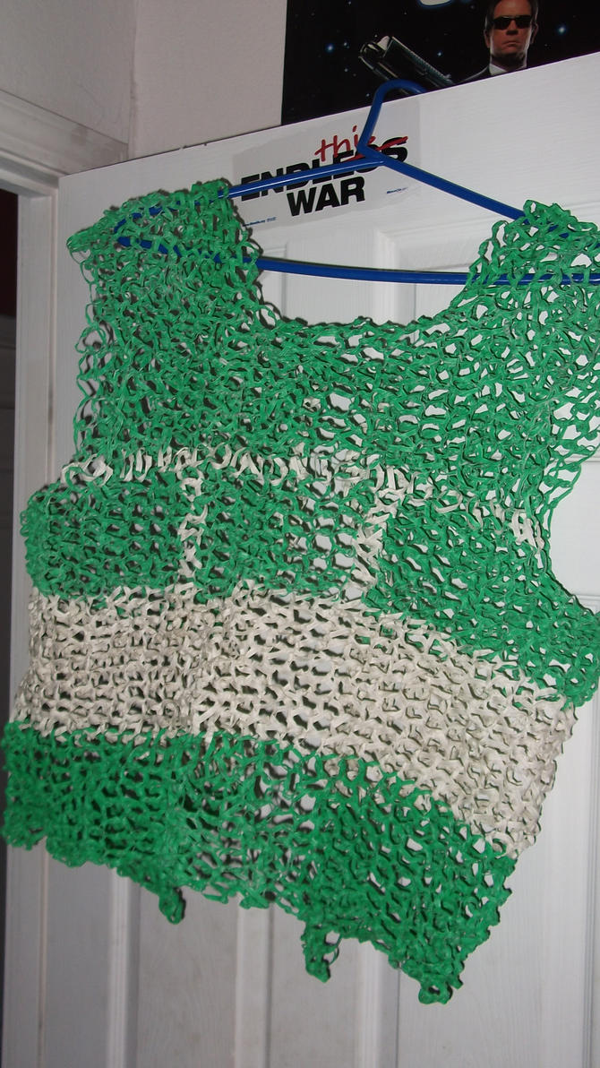 twist tie chainmail shirt by doctorbigmouth