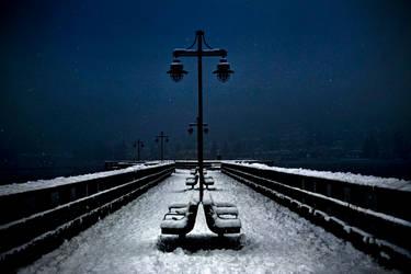 Walk in the Night.. by Violet-Kleinert