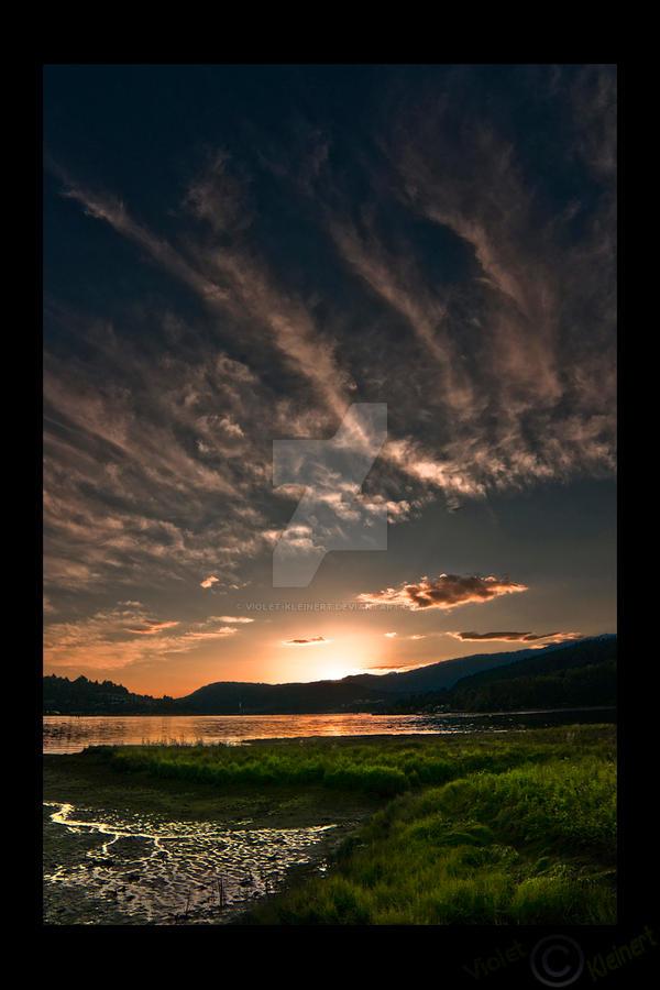 July Sunset by Violet-Kleinert