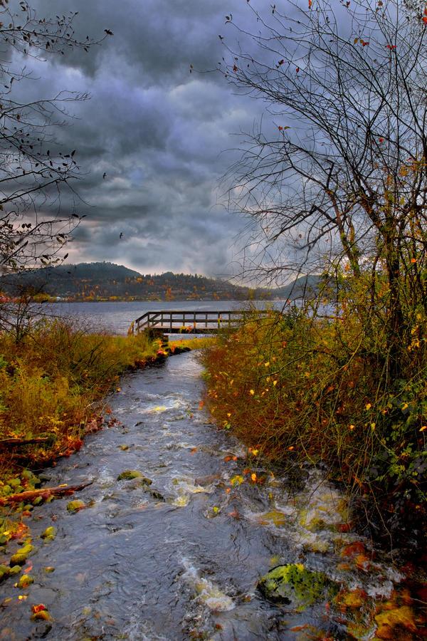 Autumn Clouds by Violet-Kleinert