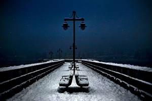 Walk in the Night WP by Violet-Kleinert