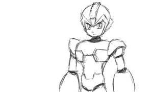 [Sketch] Megaman/Rockman X