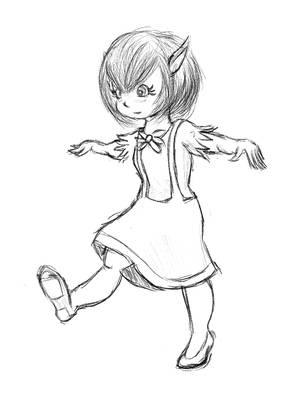 [Sketch] Walking, I'm just walking