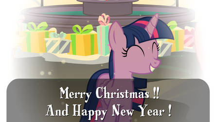 [Animation] Merry Christmas and Happy New Year! by megamanhxh