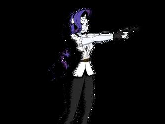 [Drawing] Rarity random pose #1 by megamanhxh