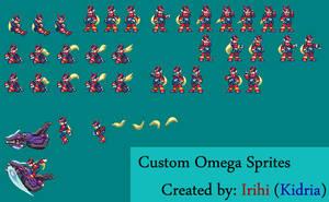 Custom Omega Sprites by kidria