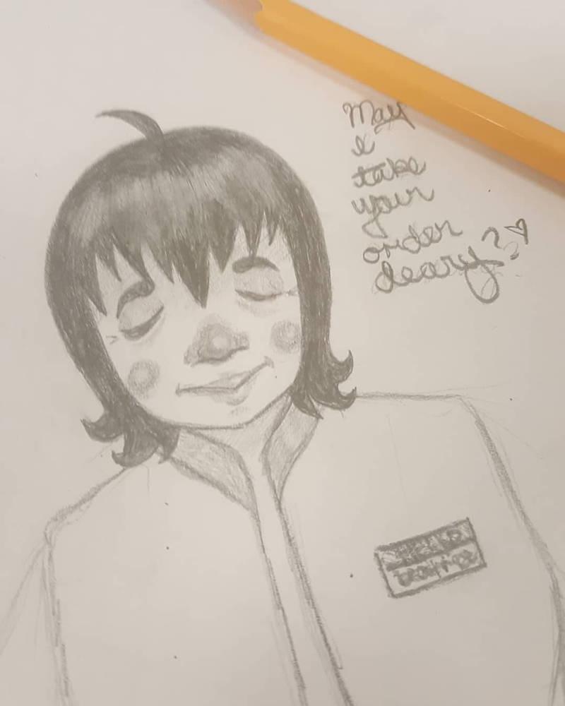 May I? by SansTheLazyBones