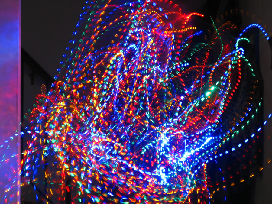Trippy Christmas lights :D by sonicbommer on DeviantArt