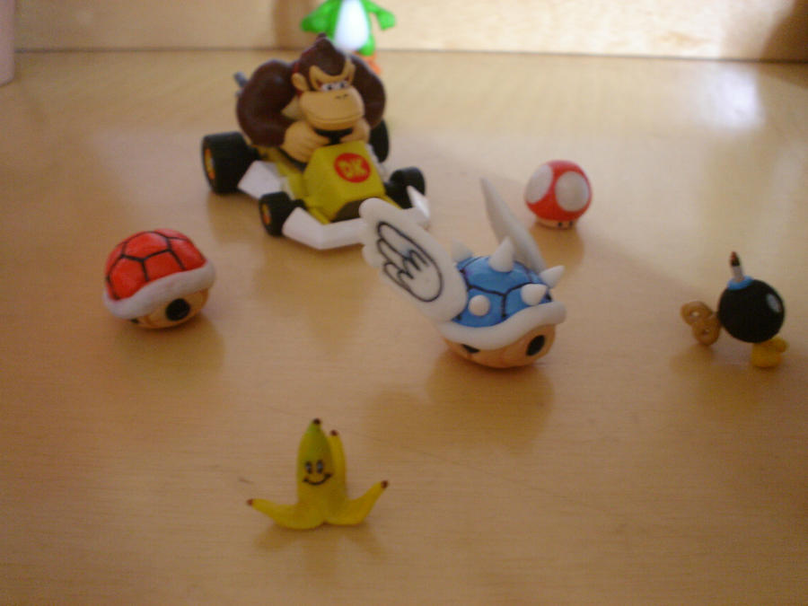 Mario Kart Biscuit Toys By 13paulis On DeviantArt