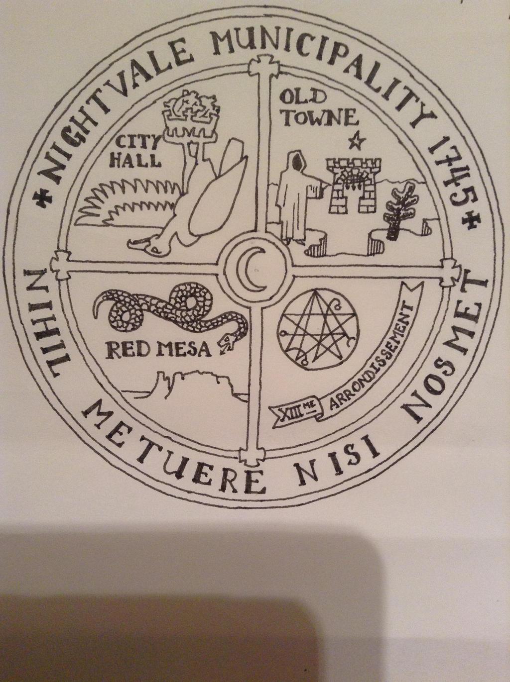 NightVale Municipality Seal