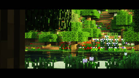 Minecraft | Ray Tracing - 1 by JustJolly