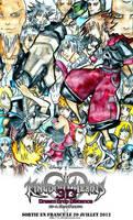 Kingdom Hearts Dream Drop Distance by o-clair